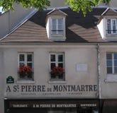 圣皮埃尔de Monmartre,巴黎,法国 库存图片