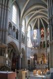 圣皮特圣徒・彼得和保罗教会内部在伯尔尼 免版税库存图片
