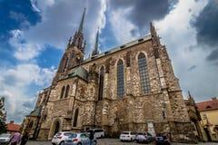 圣皮特圣徒・彼得和保罗,布尔诺大教堂  免版税图库摄影