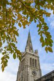 圣皮特圣徒・彼得和圣保尔斯教会在凯特琳英国 图库摄影