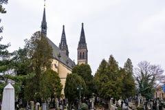 圣皮特圣徒・彼得和圣保罗大教堂从外面 图库摄影