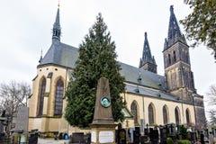圣皮特圣徒・彼得和圣保罗大教堂从外面 库存图片