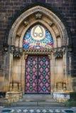 圣皮特圣徒・彼得和圣保罗大教堂在布拉格,捷克 免版税图库摄影