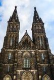 圣皮特圣徒・彼得和圣保罗大教堂在布拉格,捷克 免版税库存图片