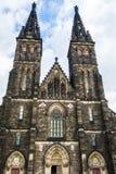 圣皮特圣徒・彼得和圣保罗大教堂在布拉格,捷克 免版税库存照片