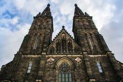 圣皮特圣徒・彼得和圣保罗大教堂在布拉格,捷克 库存照片