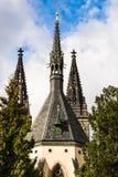 圣皮特圣徒・彼得和圣保罗大教堂在布拉格,捷克Repu 免版税库存图片