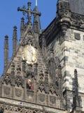 圣皮特圣徒・彼得和圣保罗,布拉格大教堂的工作者  免版税图库摄影