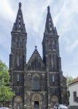 圣皮特圣徒・彼得和圣保罗,布拉格大教堂  免版税库存图片