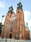 圣皮特圣徒・彼得和圣保罗Archcathedral大教堂在波兹南 库存图片