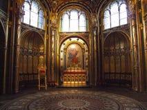 圣皮特圣徒・彼得和圣保罗Archcathedral大教堂在波兹南 库存照片