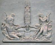 圣皮特圣徒・彼得在十字架上钉死  免版税库存图片
