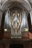 圣皮特圣徒・彼得大教堂教会器官在日内瓦 库存照片
