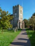 圣皮特圣徒・彼得` s教会,老Woking 免版税库存照片