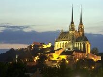 圣皮特圣徒・彼得和保罗捷克大教堂  免版税图库摄影