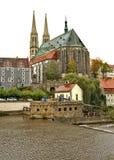 圣皮特圣徒・彼得和保罗教会在Gorlitz 德国 免版税库存照片