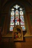 圣皮特圣徒・彼得和保罗教会的内部VyÅ ¡ ehrad的,布拉格,捷克 库存图片