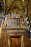 圣皮特圣徒・彼得和保罗教会的内部VyÅ ¡ ehrad的,布拉格,捷克 库存照片
