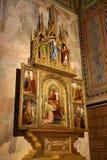 圣皮特圣徒・彼得和保罗教会的内部VyÅ ¡ ehrad的,布拉格,捷克 图库摄影