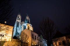 圣皮特圣徒・彼得和保罗,布尔诺大教堂  库存照片