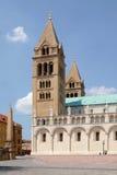 圣皮特圣徒・彼得和圣保罗大教堂在佩奇匈牙利 免版税库存图片