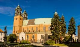 圣皮特圣徒・彼得和圣保罗大教堂在波兹南 库存图片