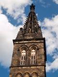 圣皮特圣徒・彼得和圣保罗大教堂塔峰顶  免版税库存照片