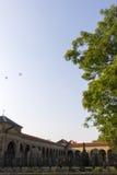 圣皮特圣徒・彼得和圣保罗大教堂的Vysehrad公墓在布拉格 免版税库存图片