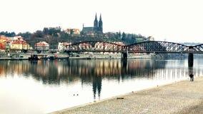 圣皮特圣徒・彼得和st Pavel大教堂在布拉格 免版税图库摄影