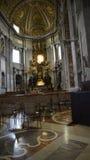 圣皮特圣徒・彼得在梵蒂冈的` s大教堂在罗马意大利 库存照片