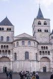 圣皮特圣徒・彼得大教堂-最旧的基督教会在德国 库存图片