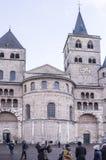 圣皮特圣徒・彼得大教堂-最旧的基督教会在德国 免版税库存照片