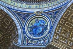 圣皮特圣徒・彼得的大教堂梵蒂冈罗马意大利 免版税图库摄影
