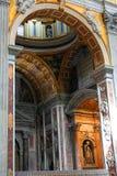 圣皮特圣徒・彼得的大教堂,罗马,意大利 免版税库存照片