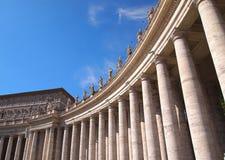 圣皮特圣徒・彼得的广场,罗马, Vaticano, Ital 库存照片