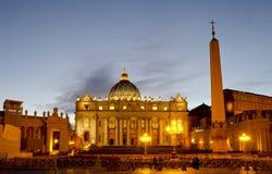 圣皮特圣徒・彼得的广场 免版税库存照片