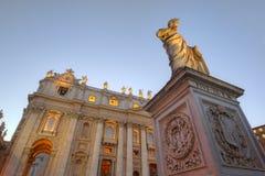 圣皮特圣徒・彼得的广场 免版税库存图片