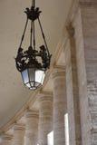 圣皮特圣徒・彼得的方形的柱廊,梵蒂冈 图库摄影