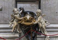 圣皮特圣徒・彼得,梵蒂冈,梵蒂冈大教堂  库存图片