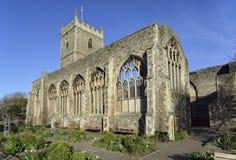 圣皮特圣徒・彼得` s教会,城堡公园,布里斯托尔 免版税库存图片