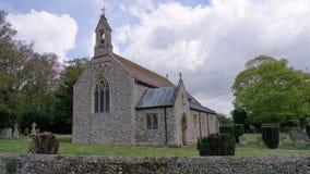 圣皮特圣徒・彼得` s教会Shernbourne 图库摄影