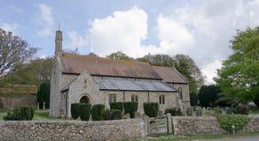 圣皮特圣徒・彼得` s教会Shernbourne 免版税库存照片
