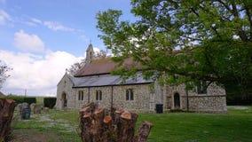 圣皮特圣徒・彼得` s教会Shernbourne 库存照片