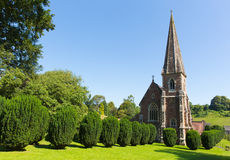 圣皮特圣徒・彼得` s教会West格洛斯特郡英国英国教务长Clearwell森林  库存照片