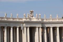 圣皮特在梵蒂冈 库存图片