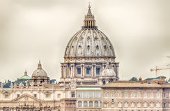 圣皮特的大教堂,罗马 免版税库存图片