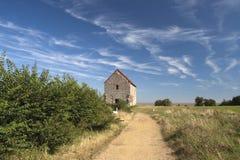圣皮特的教堂, Bradwell在海运,艾塞克斯,英国 免版税图库摄影