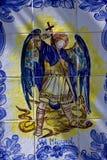 圣米格尔和龙陶瓷设计  库存图片