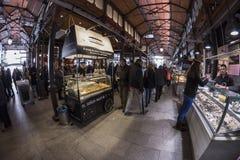 圣米格尔市场 马德里, 2018年3月11日, 西班牙 免版税库存图片