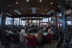 圣米格尔市场 马德里, 2018年3月11日, 西班牙 库存照片